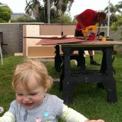 Power tools are not for babies